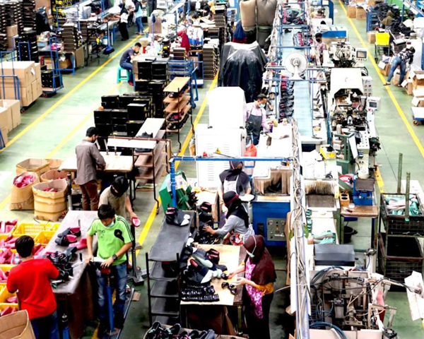 Assembly Line ( Four Lines )